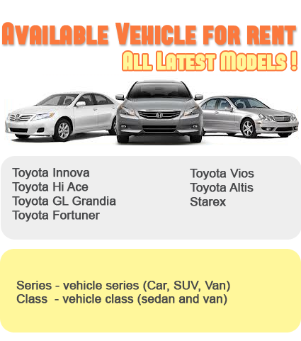 Rental Car Philippines >> Rc Rent A Car Cebu Rent A Car Cebu Van For Rent Rent A Car